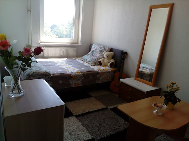 A Sunny Room in the Cozy Flat (Ladies/Couple only)