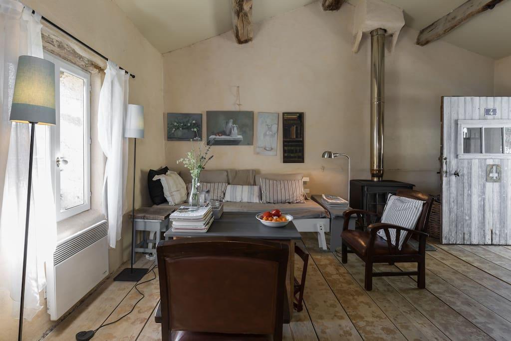 Livingroom gite 4