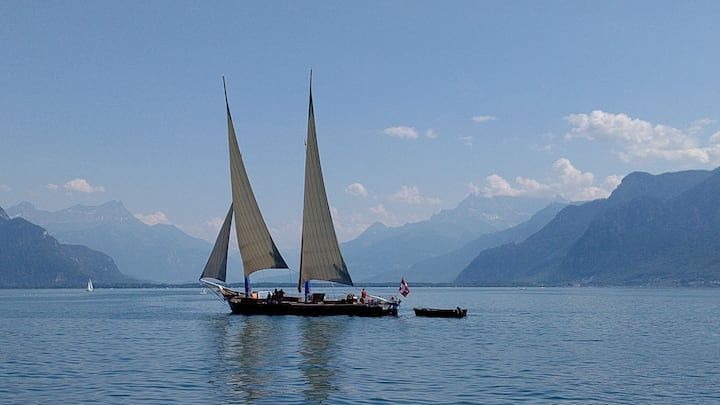 In love with lac Léman/3 bed rooms/ Montreux