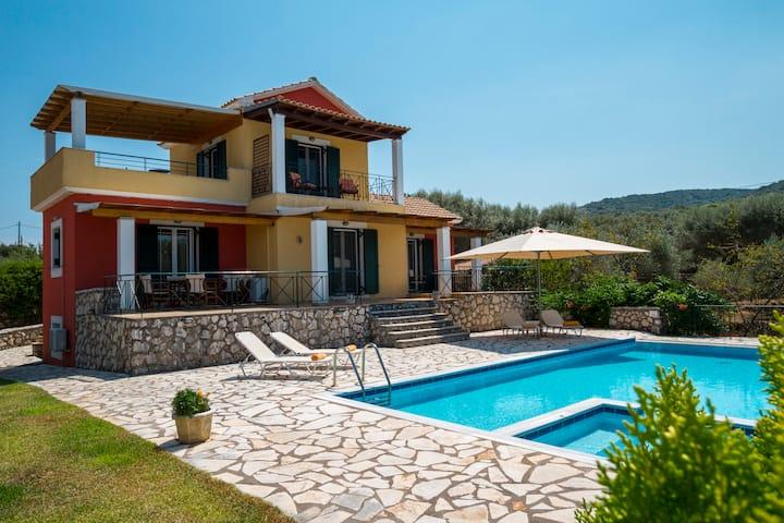Villa Eleni - Private Pool - View To The Sea