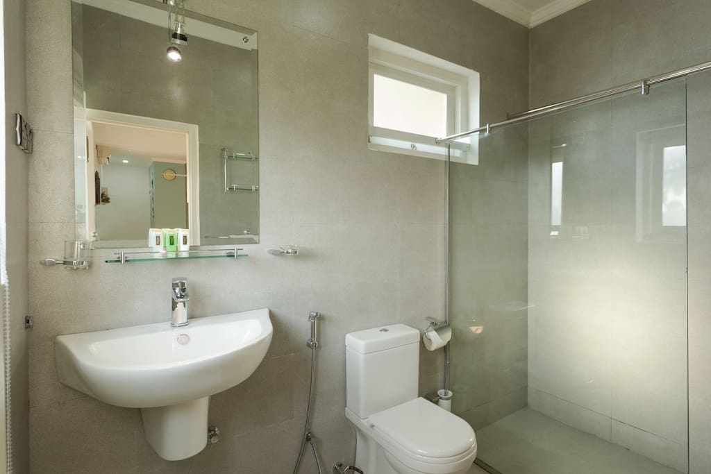 Luxury Bathroom with Hot water Shower