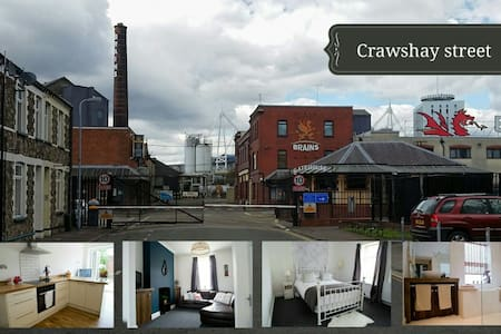 City Centre. Large luxury 3 bedroom - Cardiff