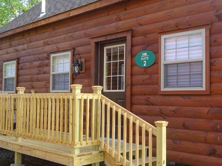 Pine Suite 2. New high-end log cabin.