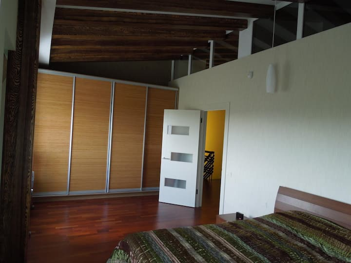 Two-level apartment for the Champions League