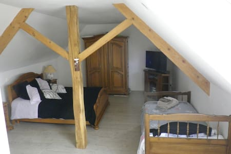 chambres proche le circuit 24 Hrs - Saint-Gervais-en-Belin - Bed & Breakfast