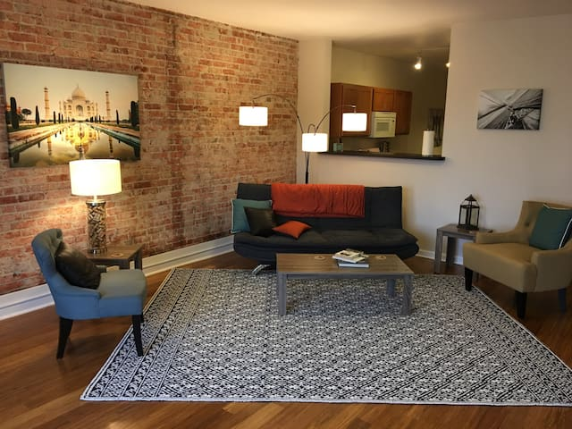 City center loft living - Spokane - Wohnung