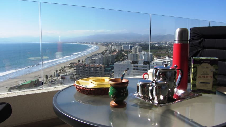 La Choza VIP Roja La Serena Playa! - Coquimbo - Apartment