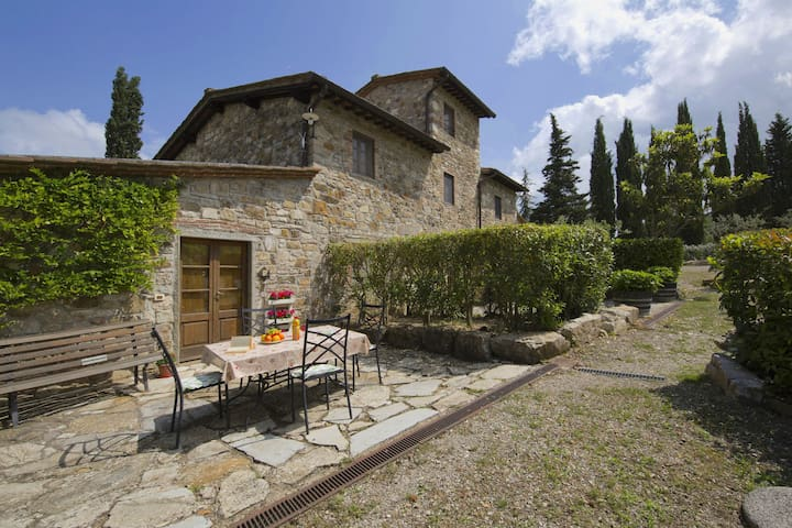 Graceful Farmhouse in Radda In Chianti with Garden