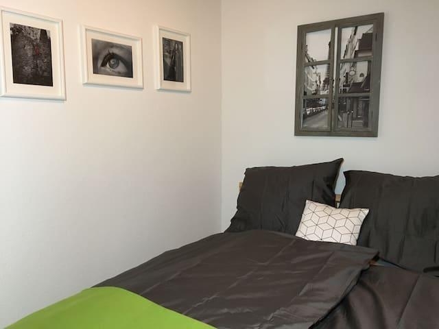 Schlaf-Séparée mit 1,40m Doppelbett