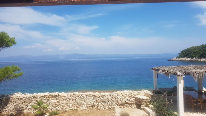 Traditional Mediterranean getaway.