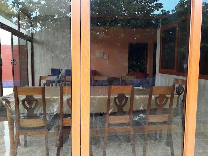 Villa avec Piscine à 500m de la plage