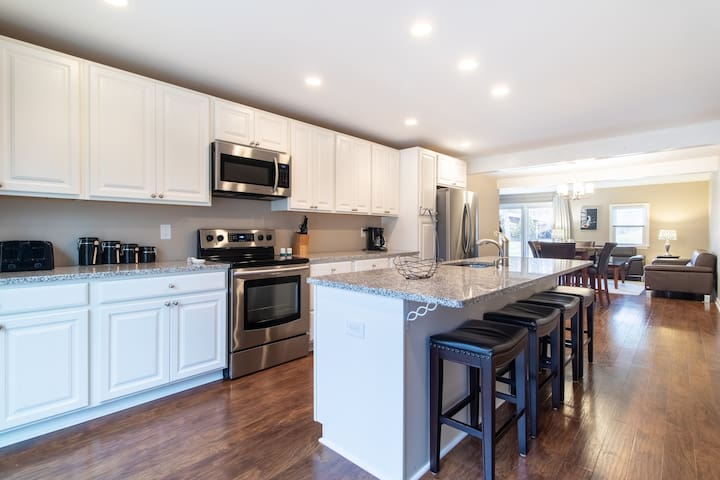 Renovated, one level home in an excellent location