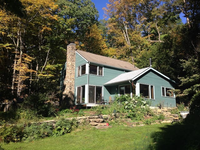 Historic wooded 3BD 1 hour from NYC - Pound Ridge - Huis
