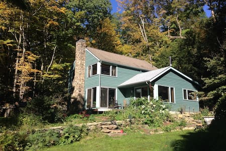 Historic wooded 3BD 1 hour from NYC - Pound Ridge - Dom