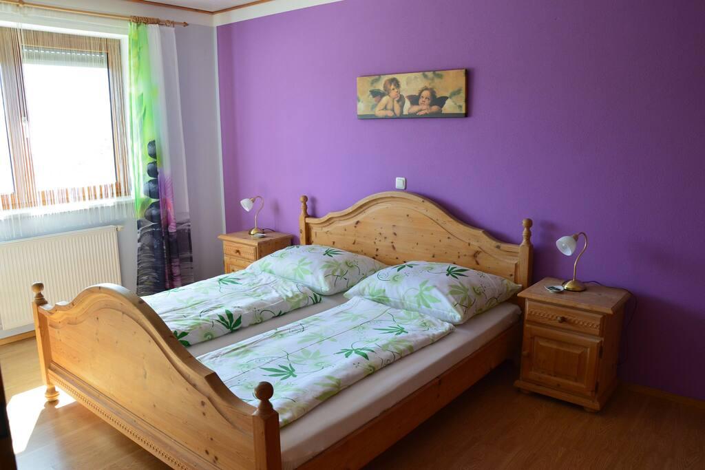 Fuchsbau Schlafzimmer