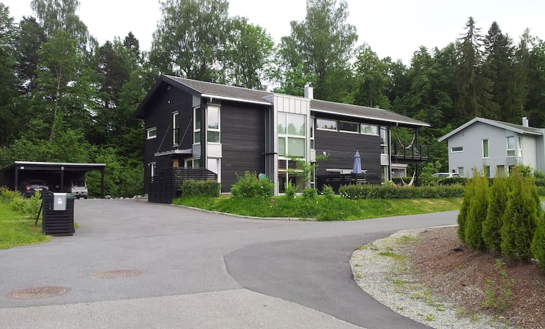 Four bedroom villa with big garden near Oslo - Asker - Huis