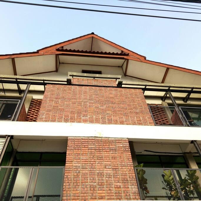 facade elevation of Sarang