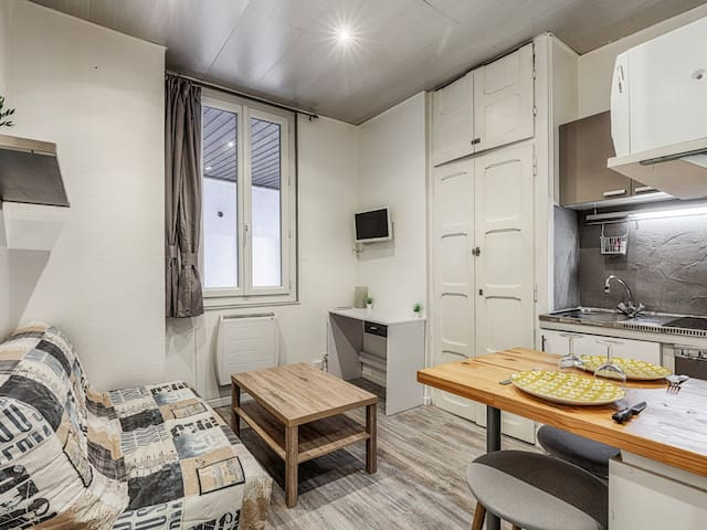 Charming studio close to Annecy old city, lake and station - Welkeys
