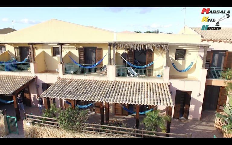 Marsala Stagnone kite House - Marsala - House