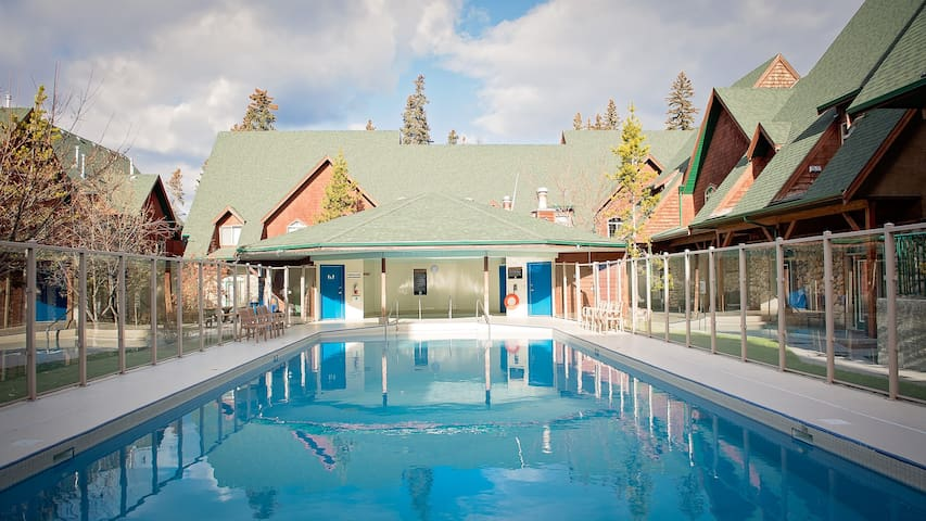 Mountain poolside Chalet