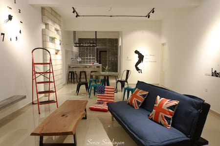 A modern industrial feel living - Seremban - House