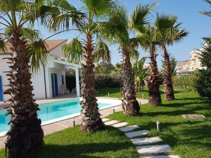 Villa Beach Haven with Private Pool