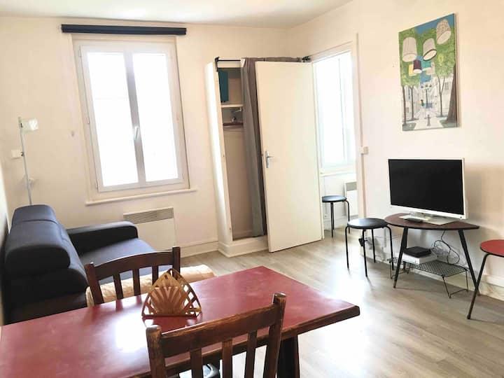 Deauville centre Morny/Plage rue Castor 2pièces 2e