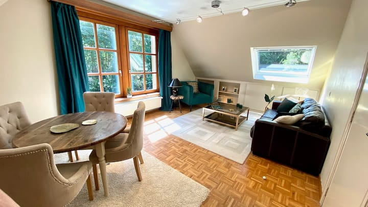Studio 2 tot  4 pers in het groen in rustige Villa