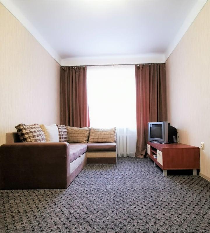 квартира с одной спальней в центре