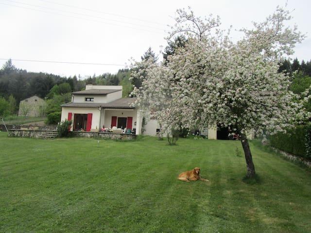 la chambre pour se reposer en Ardèche