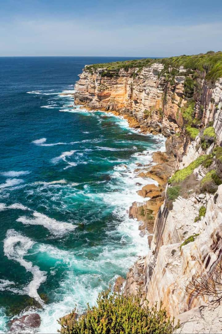 dramatic sydney cliff tops