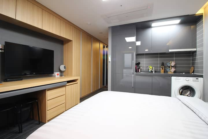 LE[DFS 100m Airport 2.4km] 2 Queen Beds Residence