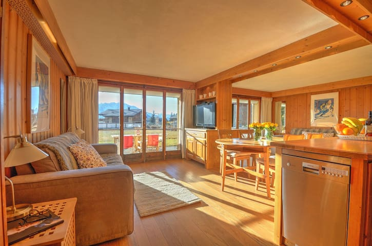 Great views studio in the heart of Verbier - Verbier - Appartement