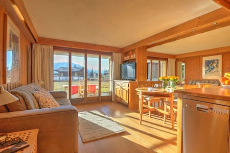 Great views studio in the heart of Verbier - Verbier - Apartment
