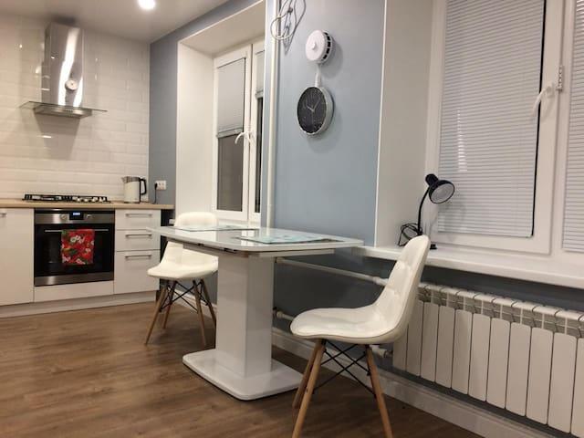 Apartment with living room Kievskaya