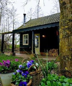 Charmant vrijstaand natuurhuis met veel privacy !! - Lexmond - Mökki