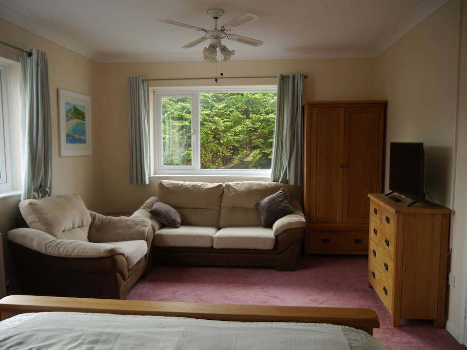 Lounge Space in Bedroom