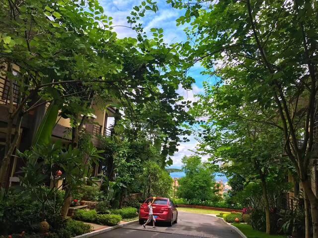 AbibHouse近洲际傣王宫旧址上的傣式别墅-雨林澜山4人2室可加床