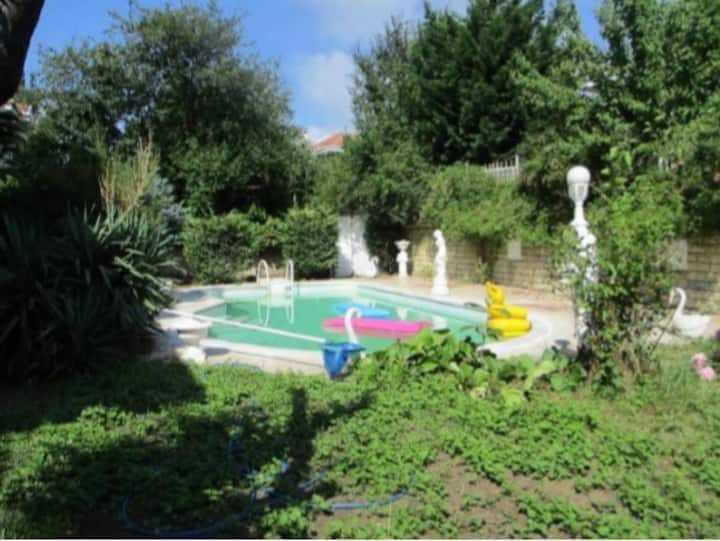 Private villa with swimming pool sariyer istanbul