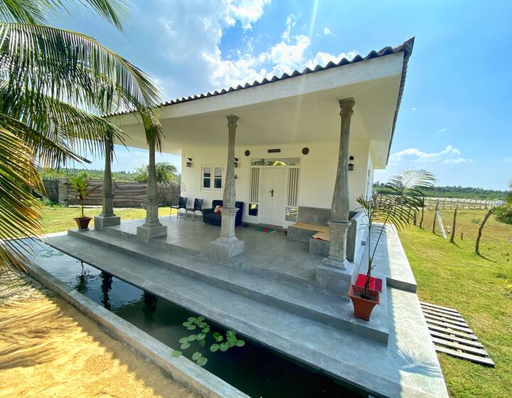 Family Villa w Balcony & Kitchen @ Kalpitiya