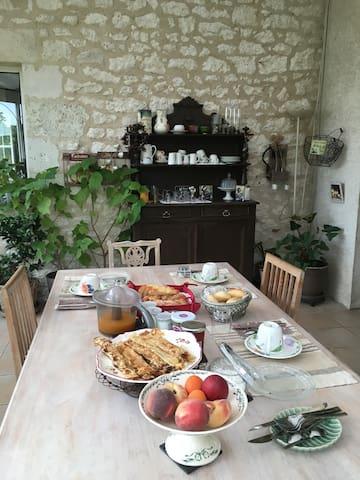 Chambre hôte propriété  viticole - Pineuilh - Casa de huéspedes