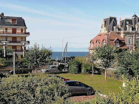 New ! Studio sea view in Cabourg