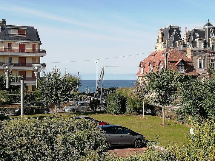 Nouveau ! Studio vue mer à Cabourg