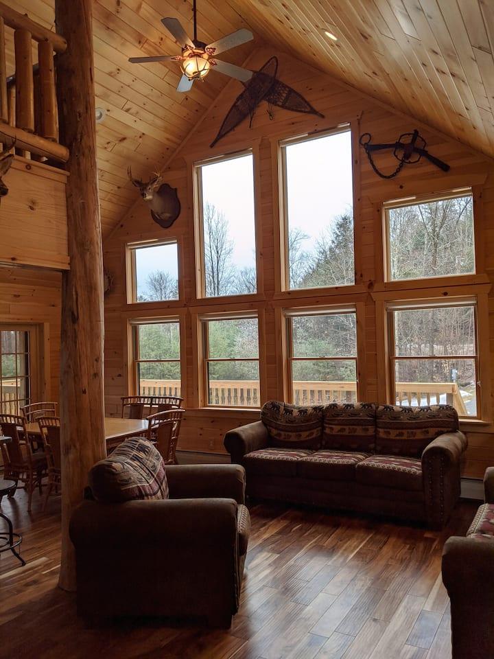 The Adirondack Retreat near Lake George