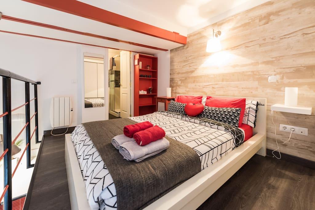 Wonderful loft in lavapi s wifi lofts en alquiler en - Lofts en madrid ...