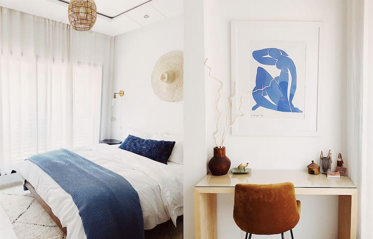 Modern, Bright Luxe Apt. in the Heart of Marrakech