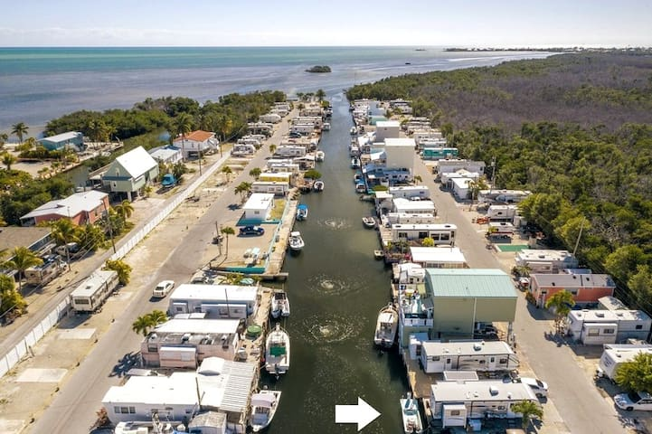 RV Sea Site in Boaters Paradise