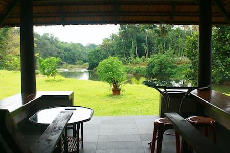 Riverside 2 bhk villa in Kochi