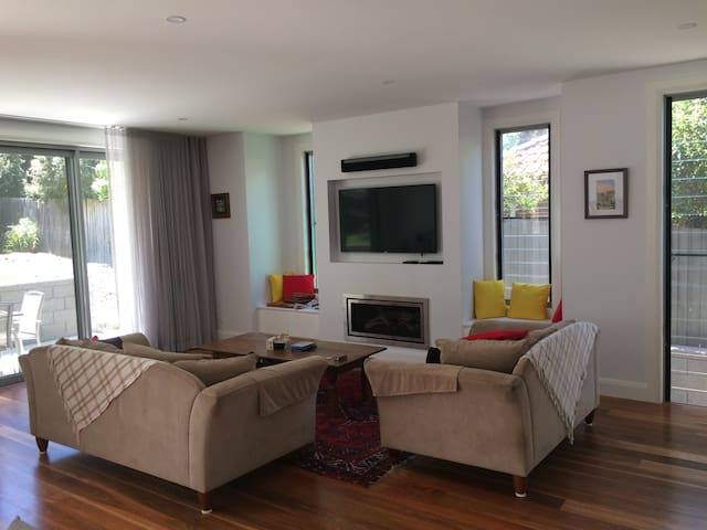 Large newly renovated family home at Hunters Hill