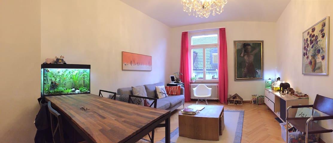Schöne 3-Zimmer-Wohnung am See beim Tiefenbrunnen - Zurique